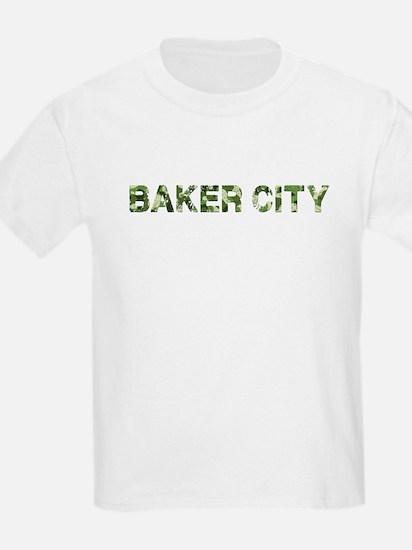 Baker City, Vintage Camo, T-Shirt