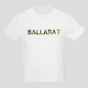 Ballarat, Vintage Camo, Kids Light T-Shirt