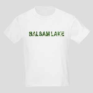 Balsam Lake, Vintage Camo, Kids Light T-Shirt