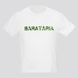 Barataria, Vintage Camo, Kids Light T-Shirt