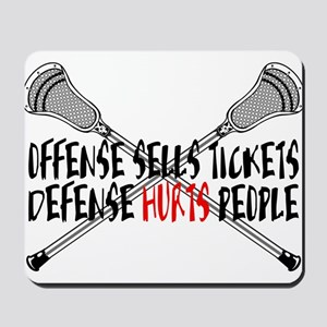 Lacrosse Defense Hurts Mousepad