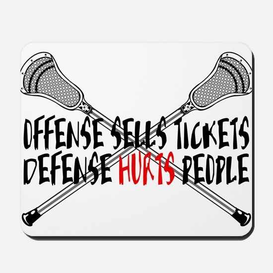 Lacrosse Defense Hurts Mousepad
