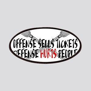 Lacrosse Defense Hurts Patches