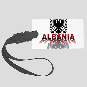3D Albania Large Luggage Tag