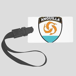 Anguilla Large Luggage Tag