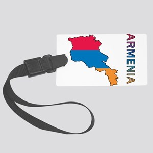 Map Of Armenia Large Luggage Tag