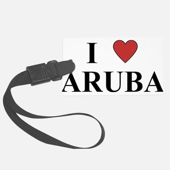 I Love Aruba Luggage Tag