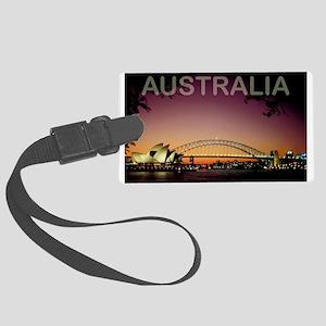 Australia Large Luggage Tag