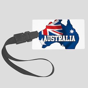 Map Of Australia Large Luggage Tag