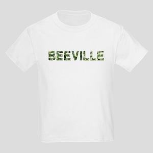 Beeville, Vintage Camo, Kids Light T-Shirt