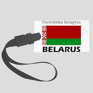 Belarus Large Luggage Tag
