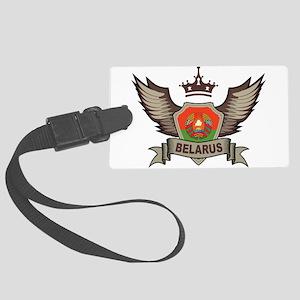 Belarus Emblem Large Luggage Tag