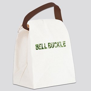 Bell Buckle, Vintage Camo, Canvas Lunch Bag