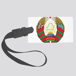 Belarus Coat Of Arms Large Luggage Tag