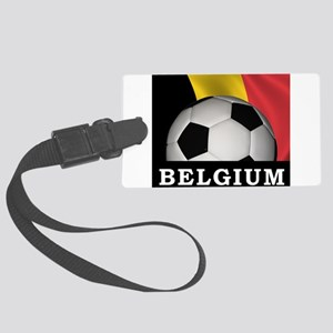 World Cup Belgium Large Luggage Tag