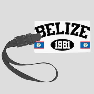 Belize 1981 Large Luggage Tag