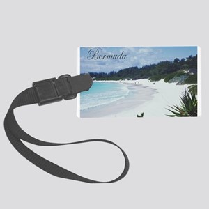 Bermuda Beach Large Luggage Tag