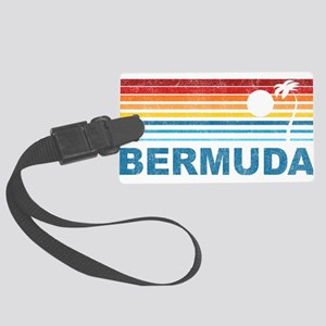 Palm Tree Bermuda Large Luggage Tag