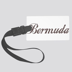 Vintage Bermuda Large Luggage Tag