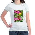 Variegated Fritillary Jr. Ringer T-Shirt