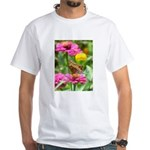 Variegated Fritillary White T-Shirt