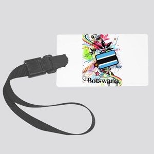 Flower Botswana Large Luggage Tag
