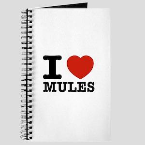 I love Mules Journal