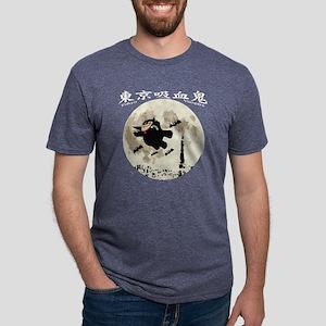 tokyo vampire Mens Tri-blend T-Shirt