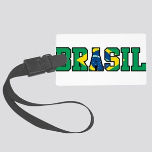 Brasil Large Luggage Tag