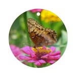 Variegated Fritillary Ornament (Round)
