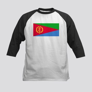 Eritrea Flag Picture Kids Baseball Jersey