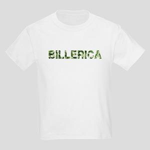 Billerica, Vintage Camo, Kids Light T-Shirt
