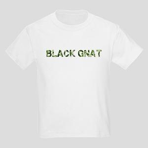 Black Gnat, Vintage Camo, Kids Light T-Shirt