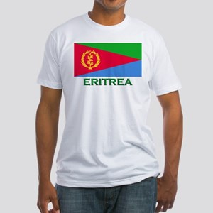 Eritrea Flag Stuff Fitted T-Shirt