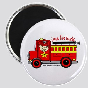 FIRE TRUCK - LOVE TO BE ME Magnet