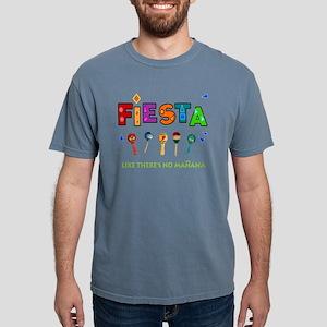 Fiesta Like Theres No Ma Mens Comfort Colors Shirt