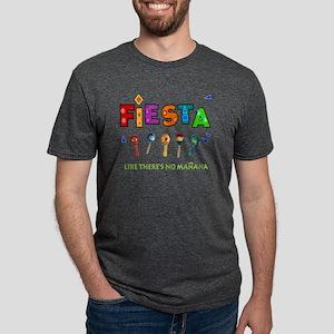 Fiesta Like Theres No Manan Mens Tri-blend T-Shirt