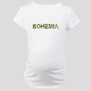 Bohemia, Vintage Camo, Maternity T-Shirt
