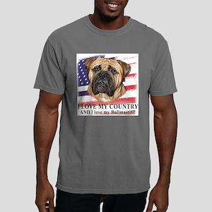love_bullmastiff_flag.pn Mens Comfort Colors Shirt