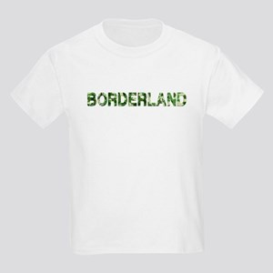 Borderland, Vintage Camo, Kids Light T-Shirt