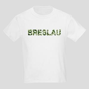 Breslau, Vintage Camo, Kids Light T-Shirt
