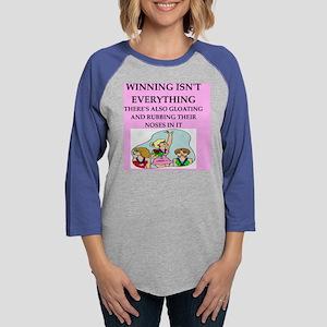 WINNING Womens Baseball Tee