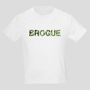 Brogue, Vintage Camo, Kids Light T-Shirt