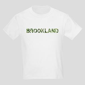 Brookland, Vintage Camo, Kids Light T-Shirt