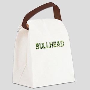 Bullhead, Vintage Camo, Canvas Lunch Bag