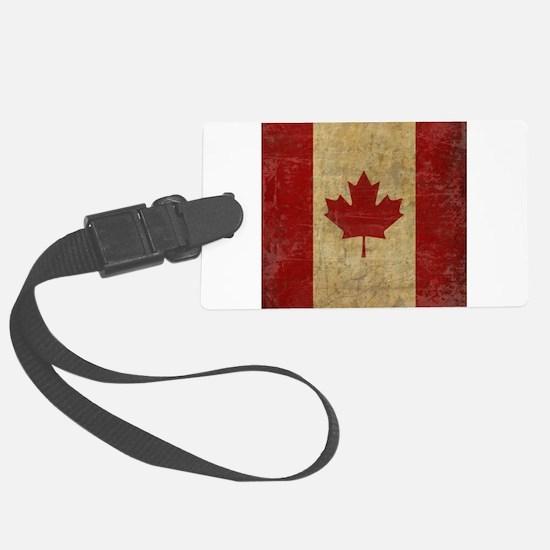 Vintage Canada Luggage Tag