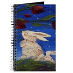 Bunny Rabbits in the Wind