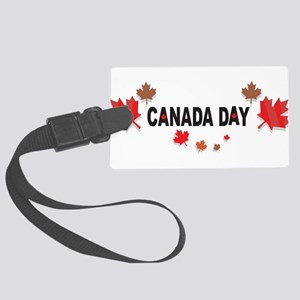 Canada Day Large Luggage Tag