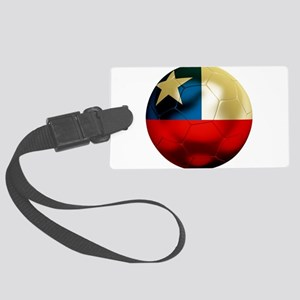 Chile Football Large Luggage Tag