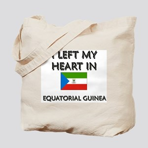 I Left My Heart In Equatorial Guinea Tote Bag